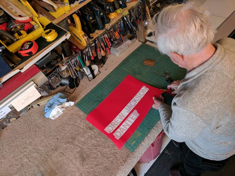 Jerry Creating Labels For The Family