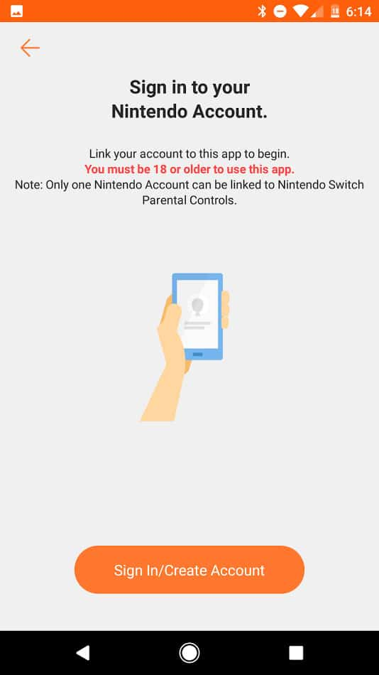 Nintendo Switch Parental Controls Android App