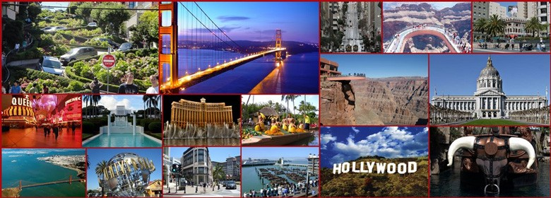 Different Tourist Destinations